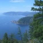 08. Listvianka. view to Port Baikal