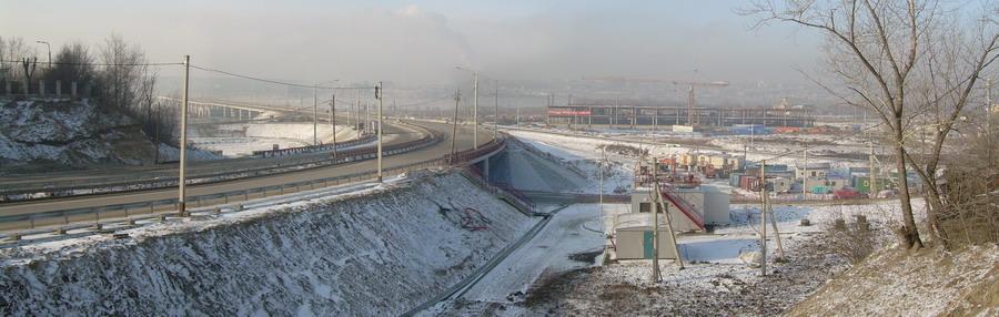 декабрь 2009).  Обновленные схемы проезда на новый мост через Ангару в Иркутске.
