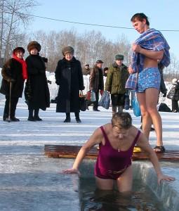 Крещение в Иркутске, 19 января