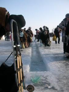 Крещение в Иркутске