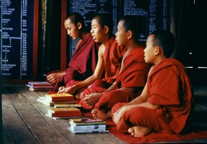 buddhist monks school