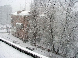 Метели в Иркутске