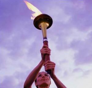 Иркутские студенты поддержали Олимпиаду в Ванкувере