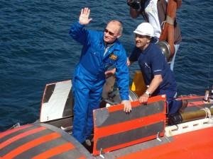Путин на Байкале