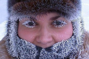 В Иркутске морозы