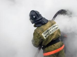 Пожар на заводе в Шелехово
