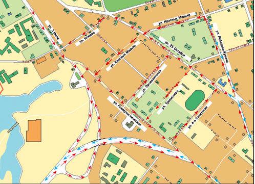 Схема: КП-Иркутск