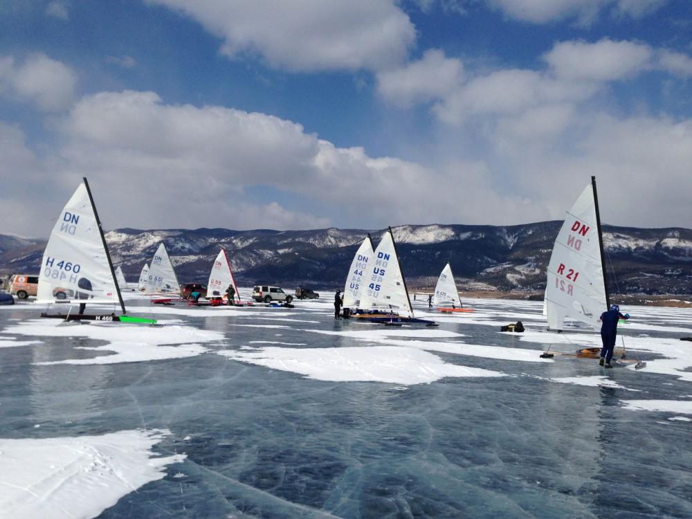 В Приангарье стартовал Кубок Байкала по буерному спорту