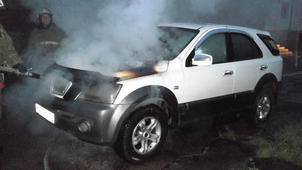 Минувшей ночью в Приангарье горели 4 автомобиля