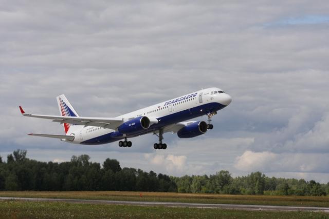 Самолет выполнен в двухклассной компоновке и рассчитан на 184 пассажира.  В отличие от предыдущих двух переданных АК...
