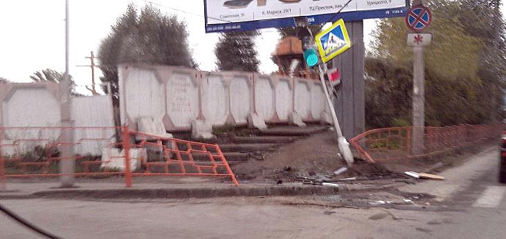 Последствия ДТП. Фото: Dinamit1, Drom.ru