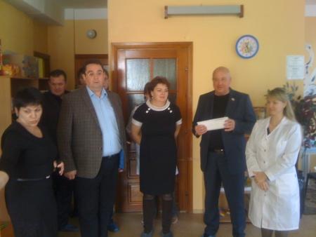 Депутаты посетили Дом ребенка №1 в микрорайоне Первомайский