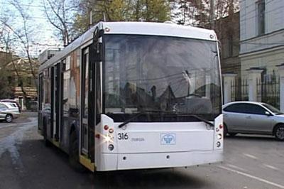 Расписание троллейбуса №6 временно изменится