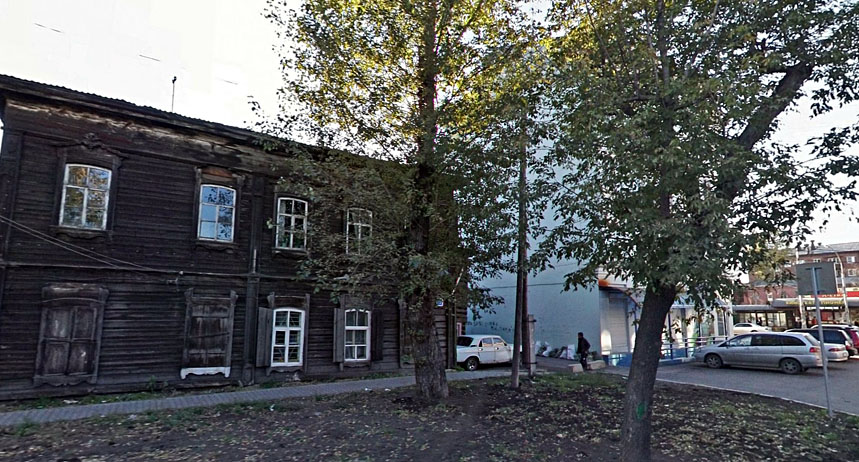 Здание до пожара. Фото: Яндекс.Панорамы
