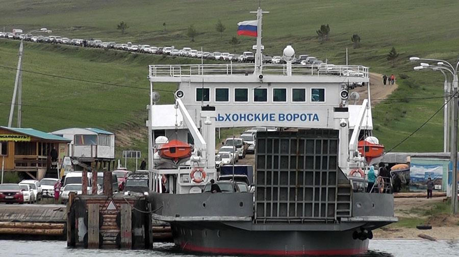 """Паром """"Ольхонские ворота"""". Фото: Юрий Горбунов"""