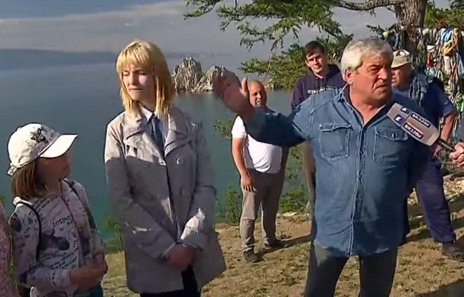 Вопрос Путину про плохие дороги прозвучал с острова Ольхон