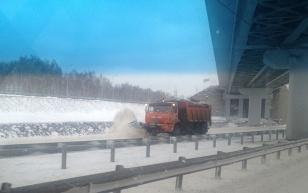 Несмотря на снегопад, проезд по дорогам, за содержание которых отвечает Дорожная служба Иркутской области, обеспечен