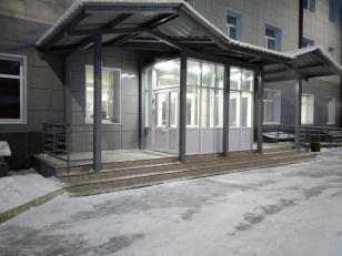 В Иркутской области в поселке Мегет закончена реконструкция здания поликлиники