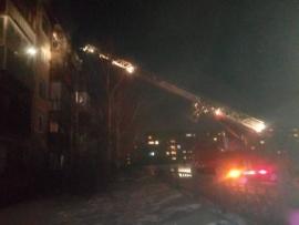 В Ангарске при пожаре в квартире многоэтажного дома погибли 2 человека