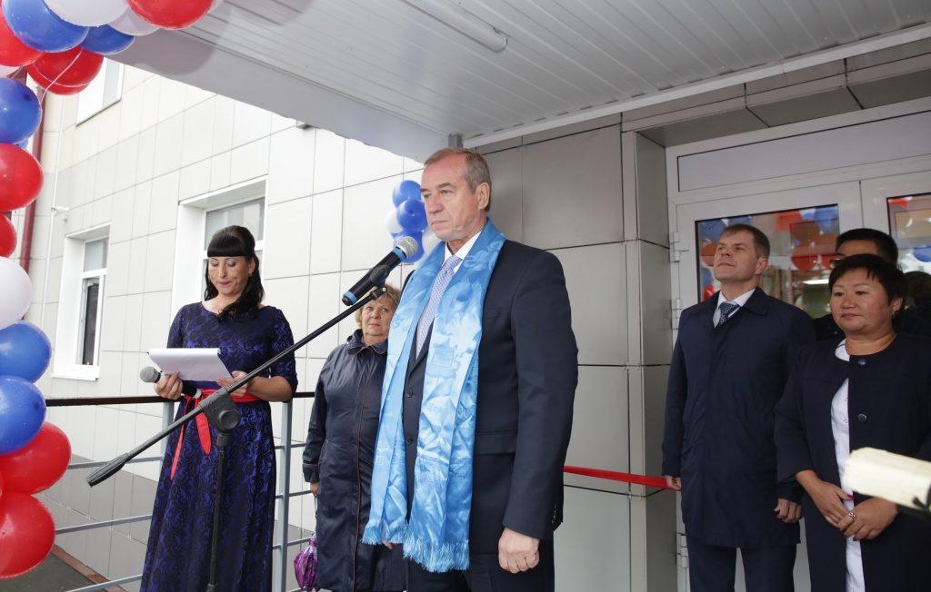 В поселке Кутулик Иркутской области открыт стационар на 155 коек