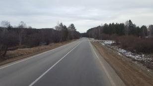 В Шелеховском районе закончен ремонт участка автодороги Олха – Большой Луг