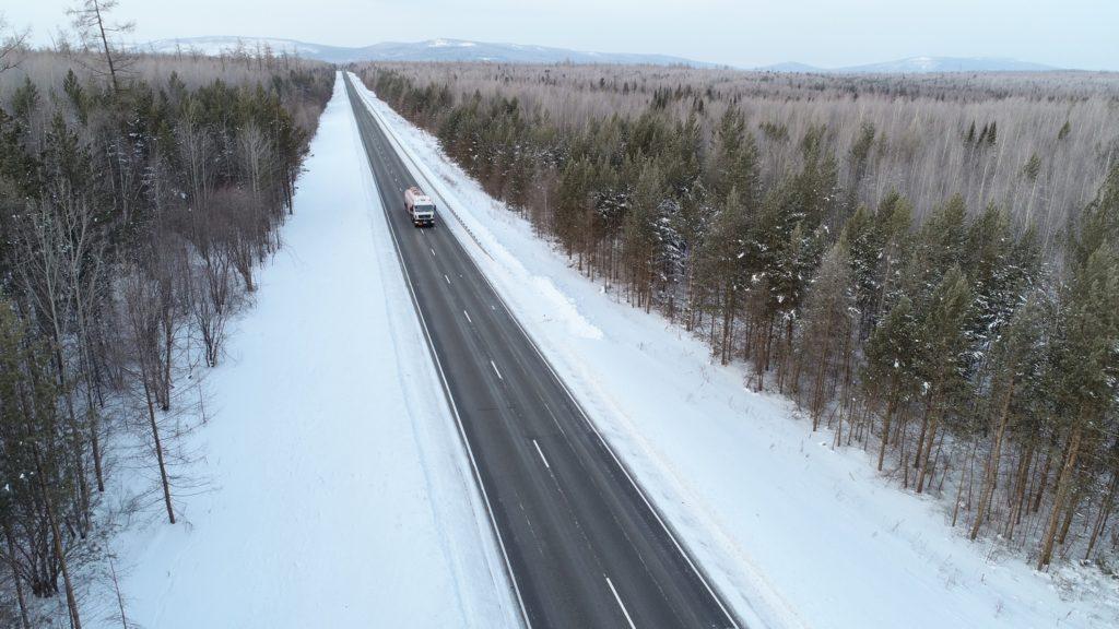 В связи с ожидающимися холодами в Прибайкалье федеральные дорожники перешли на режим повышенной готовности