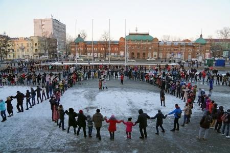 5 февраля в Иркутске пройдет традиционный танцевальный хоровод «Глобальный ёхор»