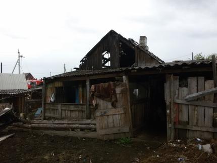 В городе Нижнеудинске при пожаре в жилом доме погибли два человека