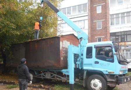 В Иркутске на территории Октябрьского округа с начала года демонтировано более 170 незаконных гаражей