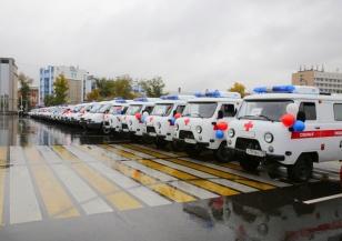 28 машин скорой помощи получили медорганизации Иркутской области