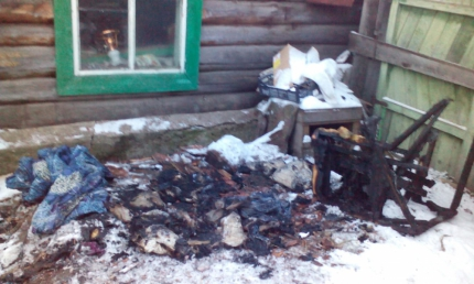 В Иркутской области во время пожара погибли трое детей