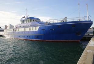 На Байкале появилось новое научно-исследовательское судно «Профессор Вознесенский»