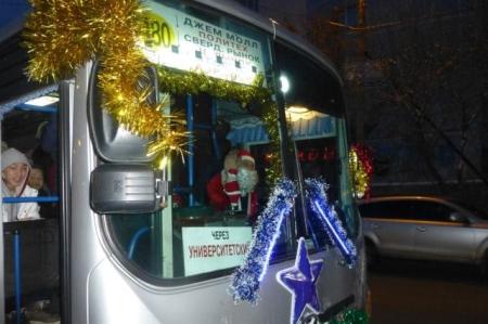 1 января общественный транспорт в Иркутске будет работать до 3 часов ночи