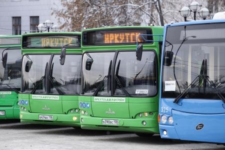Сегодня новый муниципальный транспорт вышел на маршруты Иркутска