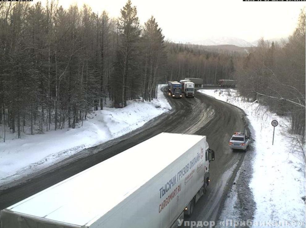 На участке автодороги Р-258 «Байкал» с 88 по 93 км движение открыто