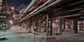 На  нефтеперерабатывающем заводе в Ангарске произошел пожар