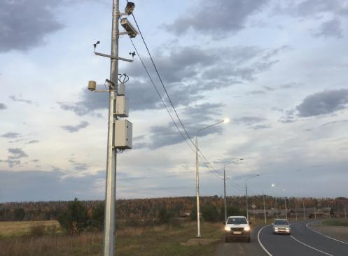 На федеральных автотрассах Иркутской области закончена установка автоматизированной системы метеообеспечения