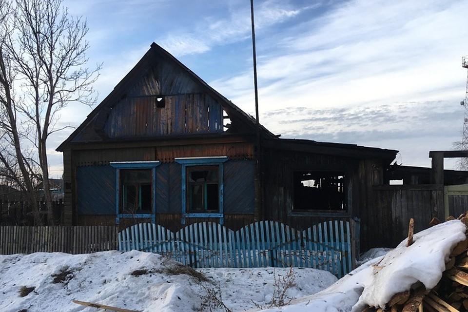 ЧП в Смоленщине: в пожаре погиб маленький ребенок