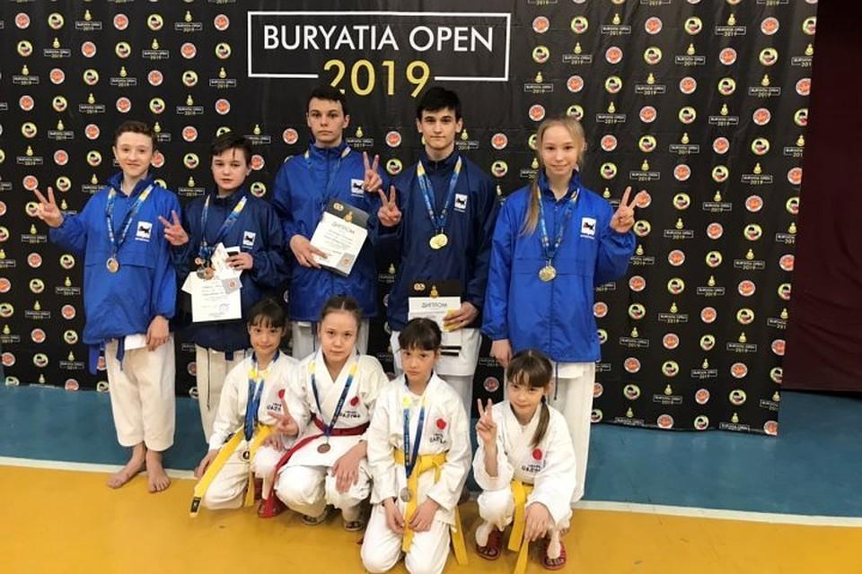 Каратисты из Иркутска привезли 16 медалей