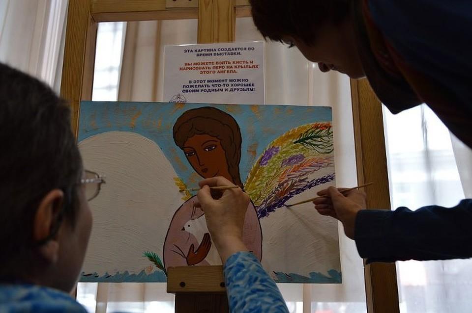 Жители Иркутска смогут увидеть «Лики ангелов мира»