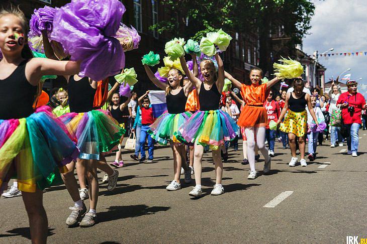 День защиты детей в Иркутске: Приходите на остров Юность