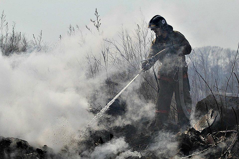 В Приангарье за праздничные дни потушили почти 300 пожаров