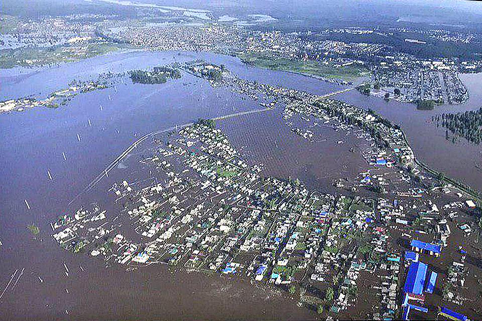 Наводнение в Приангарье: Синоптики вновь прогнозируют повышение уровня воды в реках