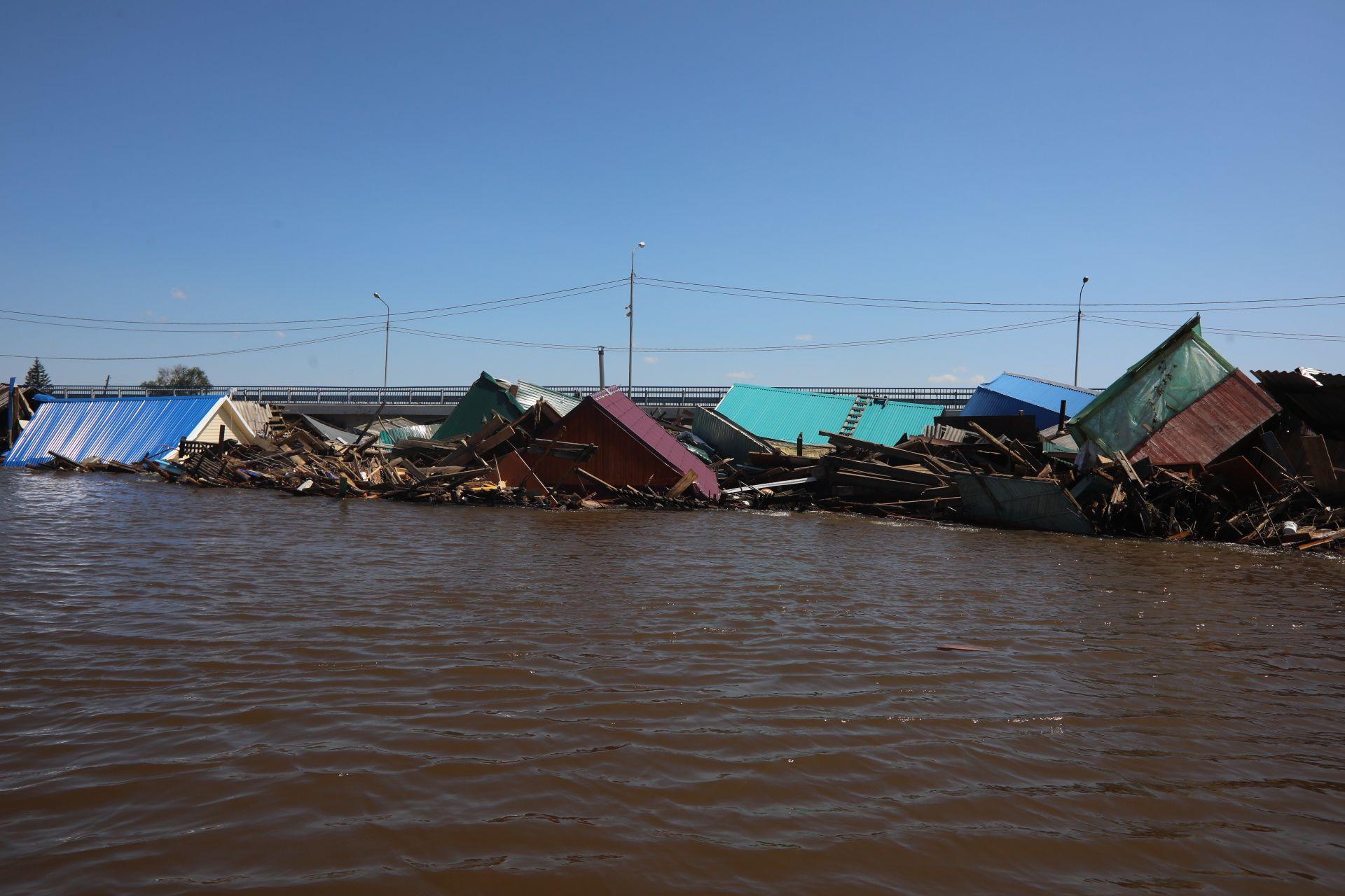 Наводнение в Иркутской области: На восстановление затопленных территорий нужно 29 млрд рублей