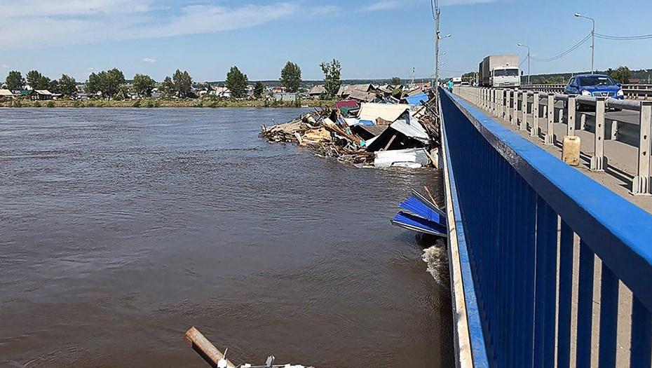 Наводнение в Приангарье: В ближайшее время повысится уровень воды в реках региона