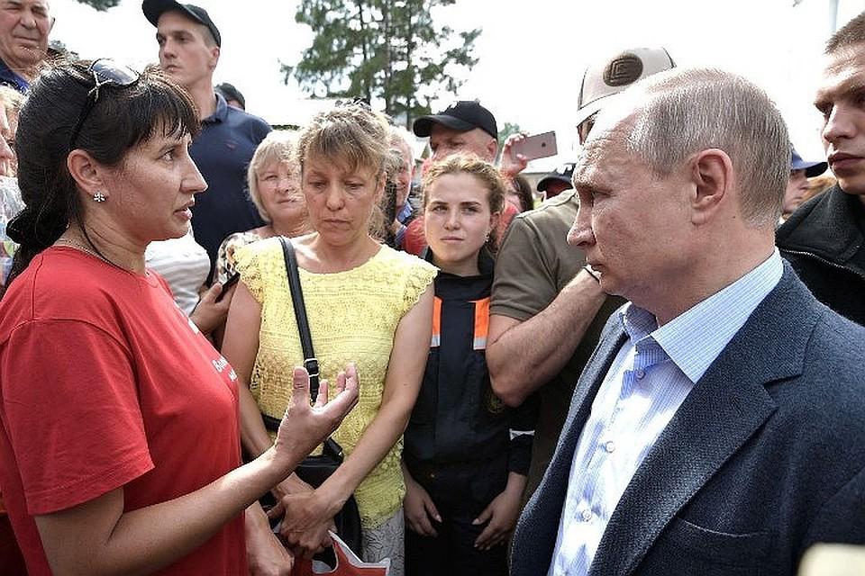 Президент РФ: «Нельзя допускать строительство в подтопляемых районах»