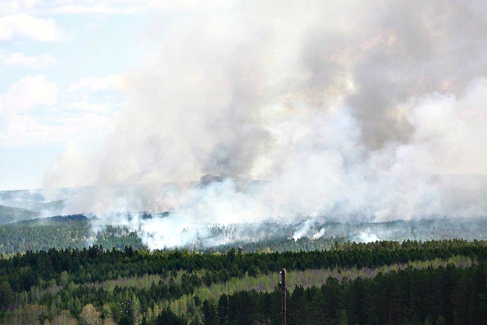 В Приангарье горит почти 60.000 гектаров тайги