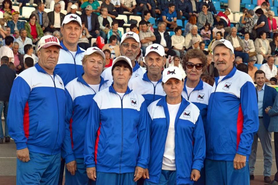 Пенсионеры Приангарья завоевали бронзовые медали на Всероссийской спартакиаде