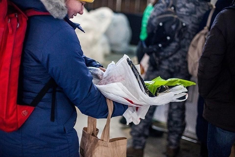 Собранные в Иркутске зубные щетки увезут на переработку в Санкт-Петербург