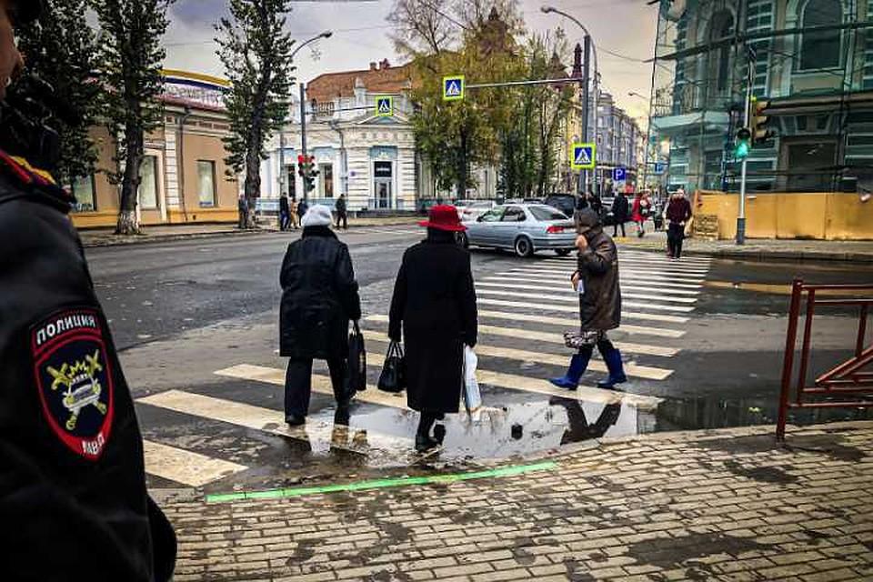 В центре Иркутска появились светофоры со светодиодной полосой
